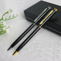 Wholesale High - end Rotating Creative Advertising Business Metal Ball - point Pen