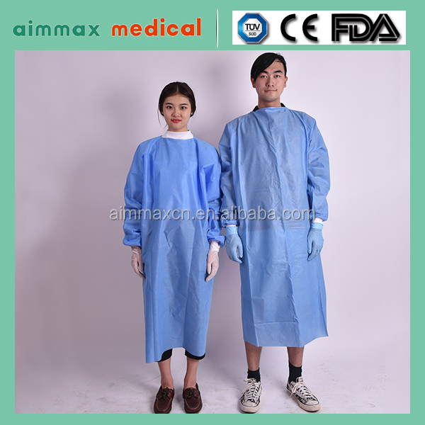 disposable non woven medical hospital suits surgical gown Health & Medical