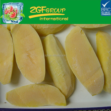 high quality fruttare half cut mango frozen fruit bars