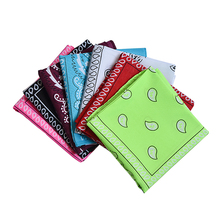 Wholesale 100% cotton printed hand kerchief Cheap Printed Woman Square Neck Scarf Bandana Kerchief