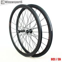 Winow R36 38mm 50mm 60mm 88mm carbon wheels 700c road bike carbon bicycle wheels tubular clincher tubeless carbon wheelset