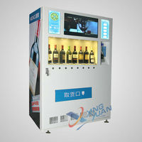 Combo Drink 22 Inches Screen Cold Drink Snack Vending Machine With ...