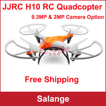 JJRC H10 Headless Mode One Key Return 4CH 2.4GHz 6-Axis Gyro RC Quadcopter with Camera 2.0MP 3D Flip RTF aircraft