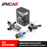 Iphcar auto parts 35W 12V AC hid xenon bulb bi xenon fog light bulb H11 xenon bulb for car