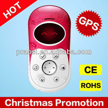 2014 latest kids GPS phone with SOS button, MP3 MP4 for kids birthday gift