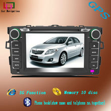 gps navigation system for 2012 toyota corolla