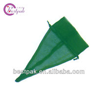 High quality customized Triangle shape organza bag
