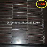 high qualitystainless steel SS302 wire conveyor belt mesh