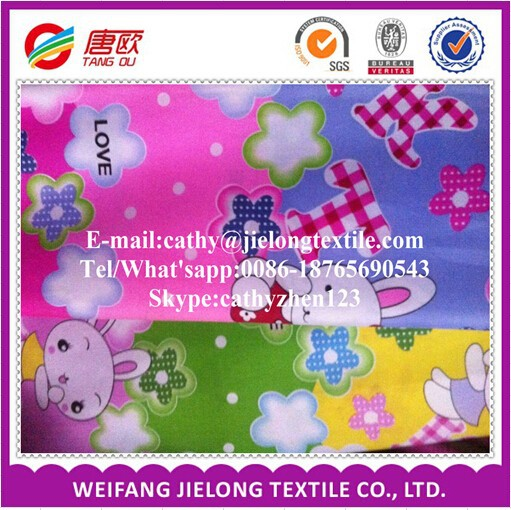 Newly 100 Polyester Brushed Hometextile Microfiber fabric for making Bed Sheets