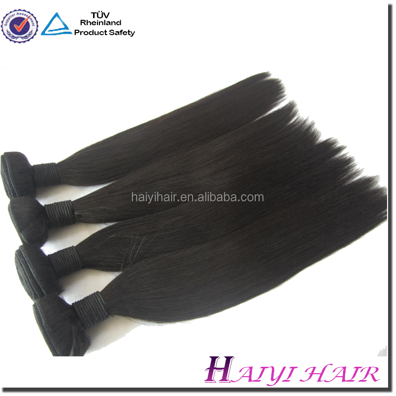Large Stock Wholesale Remy Virgin Yaki Human Hair Curly Weave