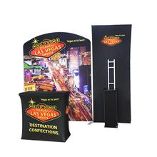 Portable folding standard exhibition trade show booth design 10x10 exhibit display