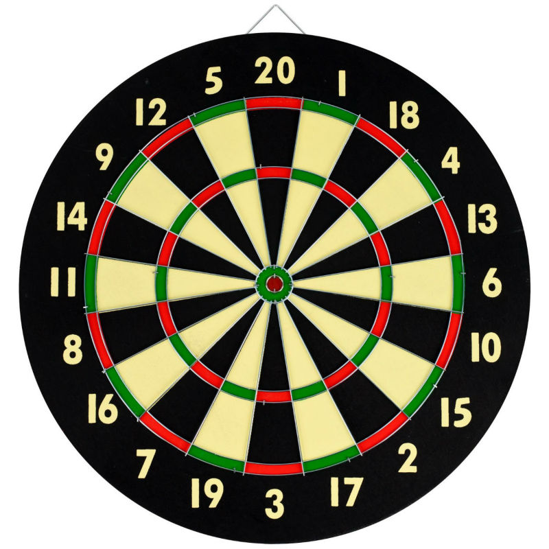 6 Dart Game Set Board