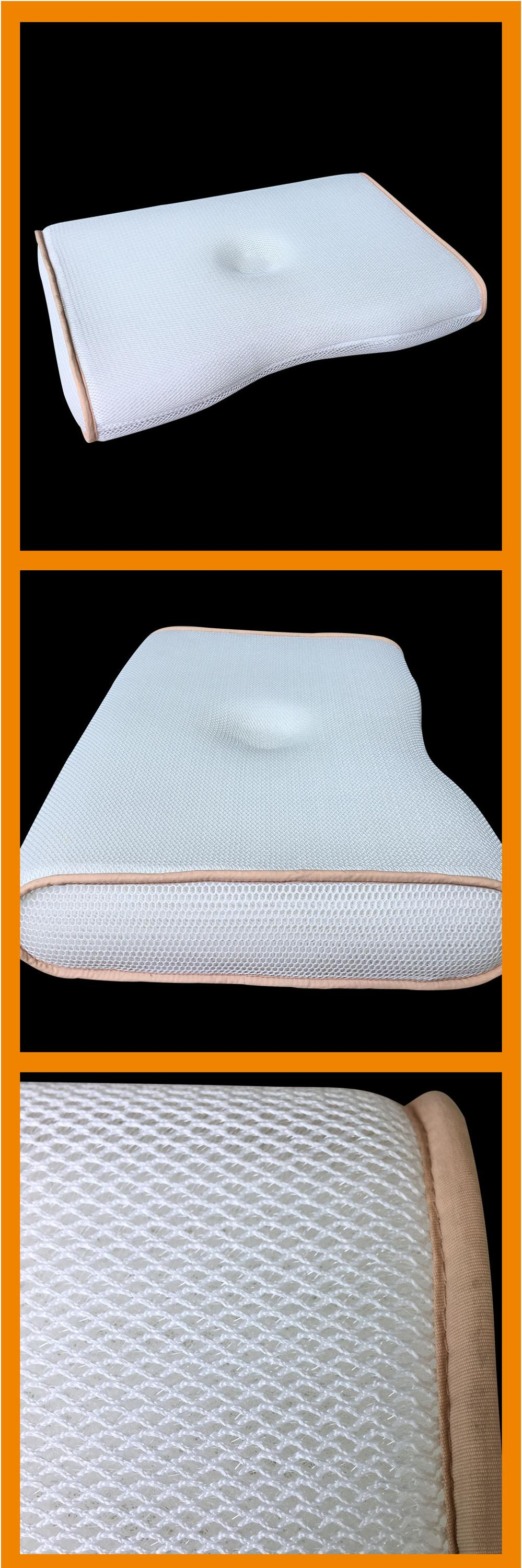 cooling breathable and washable wide sleep thick mesh  pillow