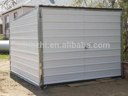 pent shed garage/motorcycle garage/flat roof shed garage