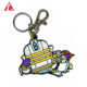 Good quality Custom Make Your Own Cartoon Embossed Soft Pvc Rubber Silicone Keychain