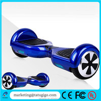Gyroscope 20km range full standard 6.5 inch 2 wheel hoverboard with bluetooth speaker and Samsung battery
