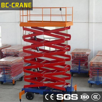 Widely used hot-sale scissor lift,mini hydraulic crane for sale,mini scissor skylift for sale