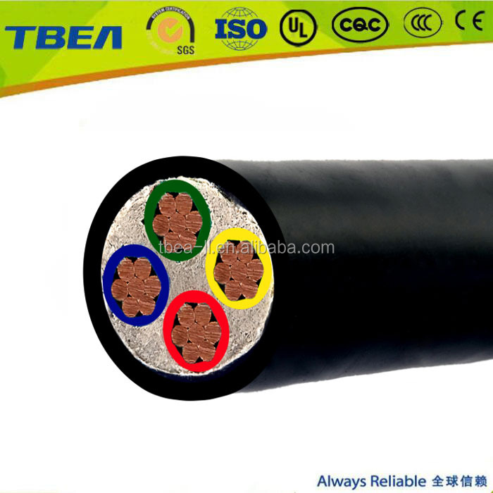 0.6/1kV 4 Core 4mm PVC Cable