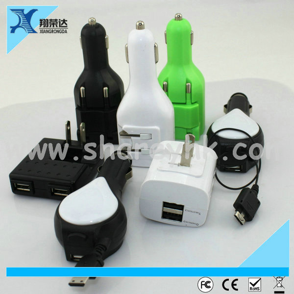 Hot sale Portable charger for car charger,universal car charger for laptop and mobile
