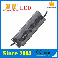 CE & RoHS Certifications IP67 Metal Shell Waterproof 60W 12V 5A Power Supply