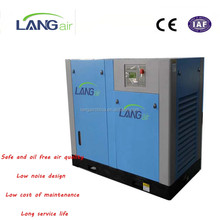 2018 Best Quality Noiseless Dental 11KW 15HP Water Lubricated Oil Free Screw Air Compressor With Dryer