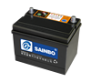 Sainbo Auto battery N100 12v 75AH dry charged battery