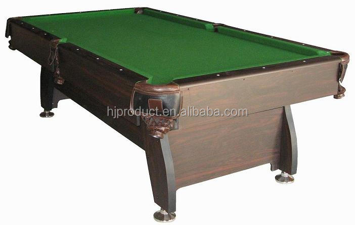 Game Sports Family Use Billiard Pool Tables With Leather Corner