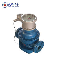 Oil field flow meter with totalizer