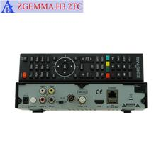 satellite receiver + two cable/terrestrial tv box dvb s2 + 2 * dvb t2&c ZGEMMA H3.2TC