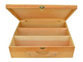 FSC certificated wooden empty wooden wine box for 3 bottles of wine