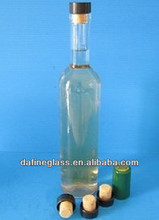 350ml 500ml or 750ml glass bottle for fruit and red wine