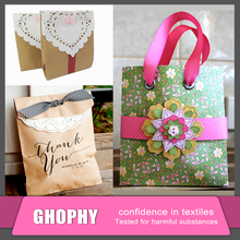 Cheap Fancy Christmas brown kraft paper gift bags wholesale made in China