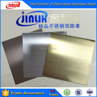 Special Stainless Steel Material Hairline Mirror