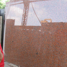 Complete Certificate Maple Leaf Red Granite Slabs Prices