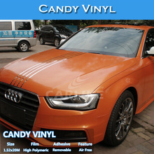 Easy Install CARLIKE Brand Matt And Glossy Candy Car Film