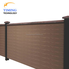 Durable 20 years synthetic fence WPC wall panel