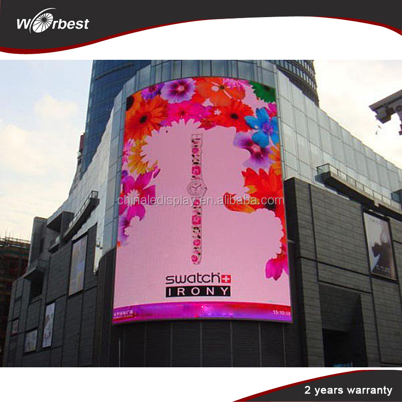 P8 highly waterproof full HD custom led digital advertising screens for sale
