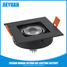 Adjustable power supply led ceiling light housing parts