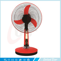 16 inch solar electric fan
