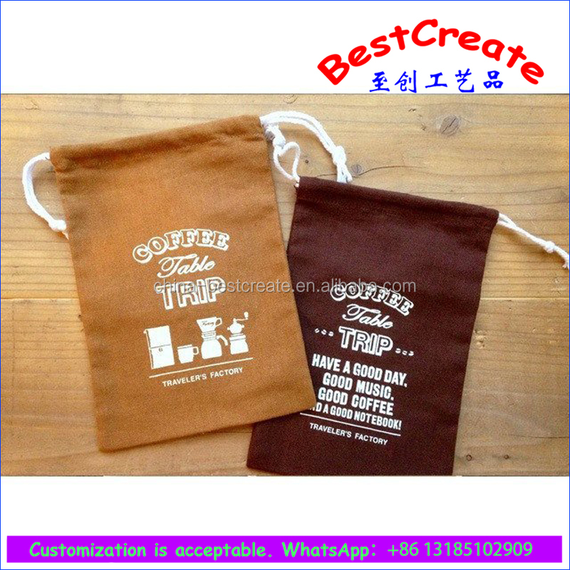 Wholesale canvas Easter bags drawstring eggs packing bag