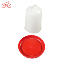 Newest livestock plastic chicken water feeders waterer manual drinker for poultry