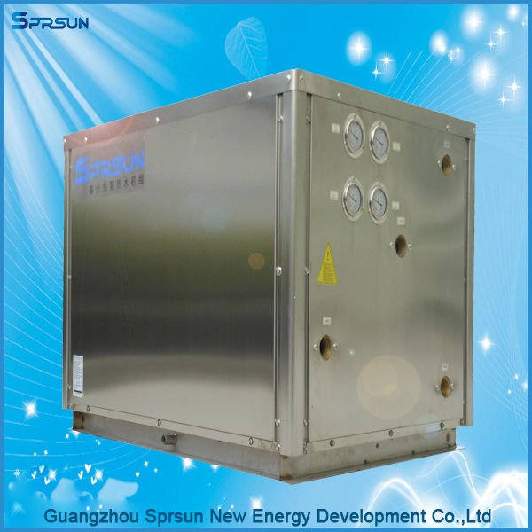 ground source heat pumps cooling heating shower water pumping