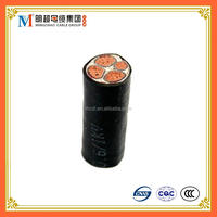 High quality CU/XLPE/PVC cable YJV 0.6 to 1kv power cable of 3x120mm2+1x70mm2 electric wire