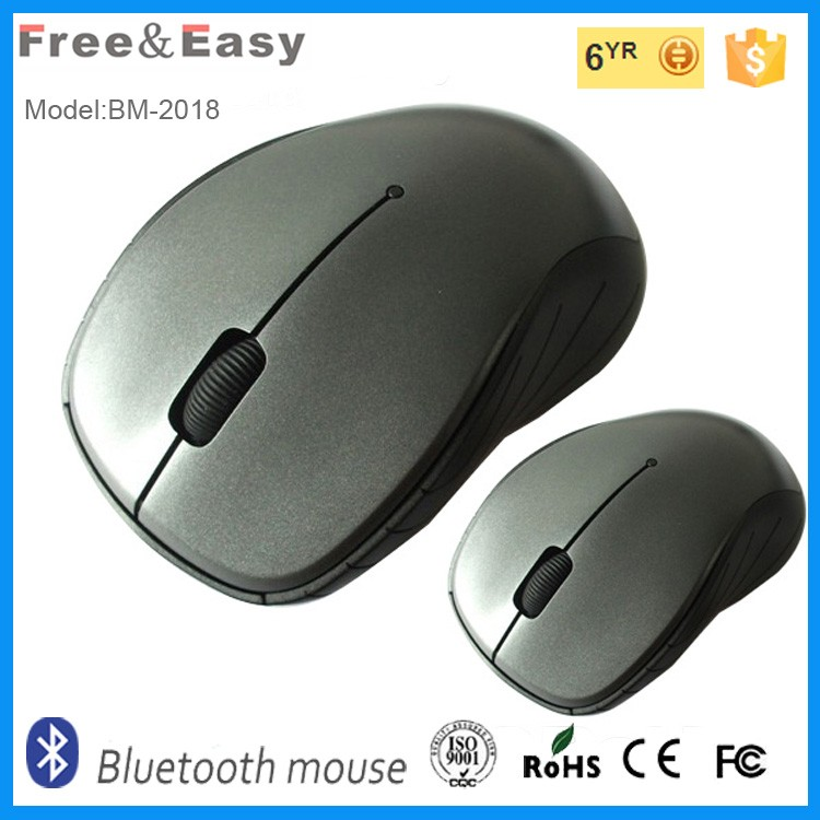 white professional technology wireless bluetooth mouse