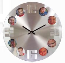 cheap promotional china photo frame clock gift for decoration