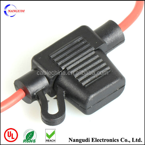 customized inline 40 amp automotive fuse holder socket
