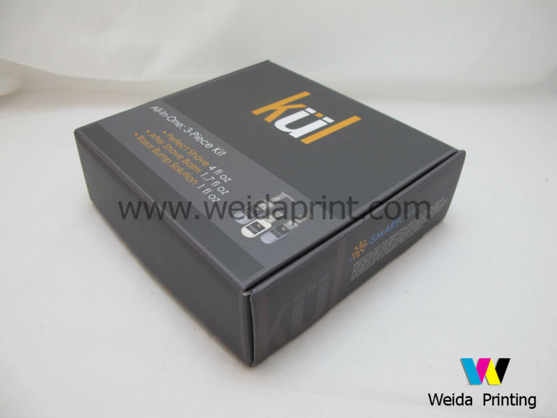 color printing cosmetic outer packing paper box