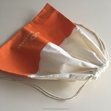 Dipped Cotton Drawstring Bag For Packaging