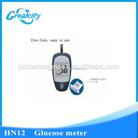 CE approved medical mini glucose and cholesterol meter