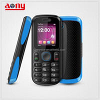 1.8 inch dual sim cards super quality mini mobile phone with long time to talk and stand-by